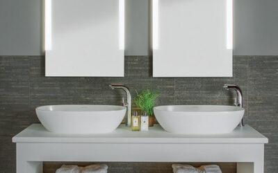 5 Tips om de badkamer te verlichten